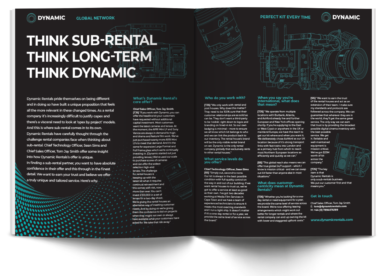 Dynamic Rentals Editorial