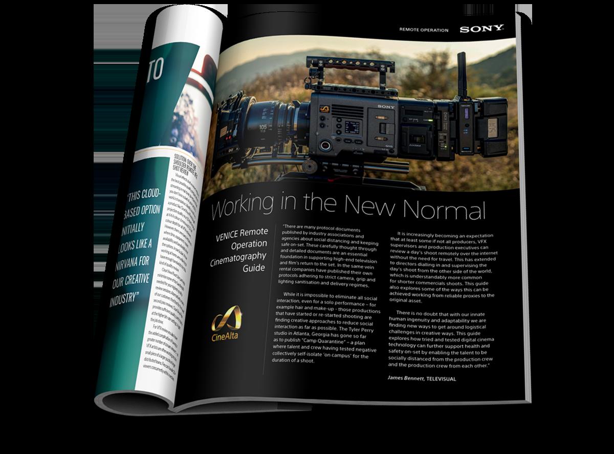 Sony VENICE Editorial