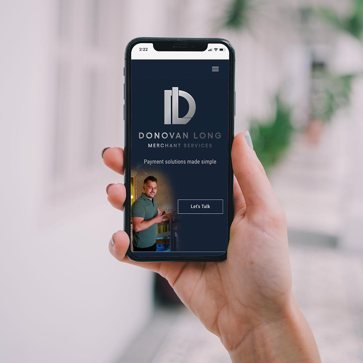 Donovan Long Merchant Services Website
